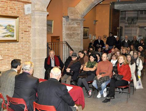 Salón lleno en Bellas Artes de Valencia