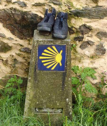 Botas del caminante