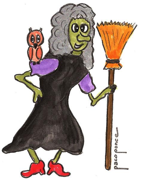 Bruja de 'Halloween'
