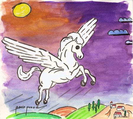 Pichín - El caballo 'Alado'