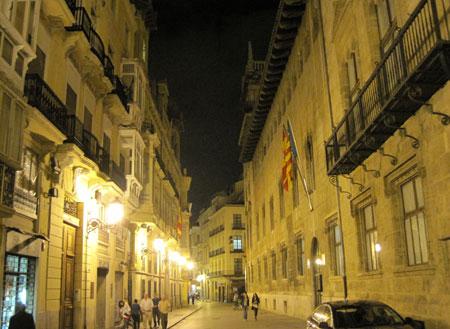 Calle de Caballeros - Valencia