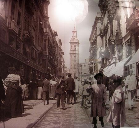 (Calle de la Paz año 1909) - Archivo