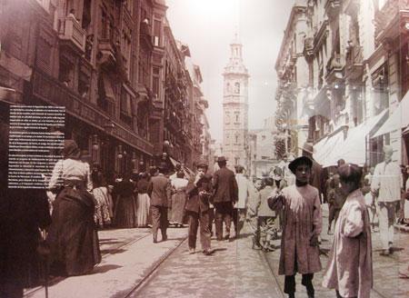 Calle de la Paz Valencia 1909