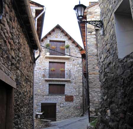 Calle de Cerler (Huesca)