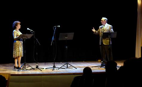 Amparo Carbonell y Vicente L. Soriano