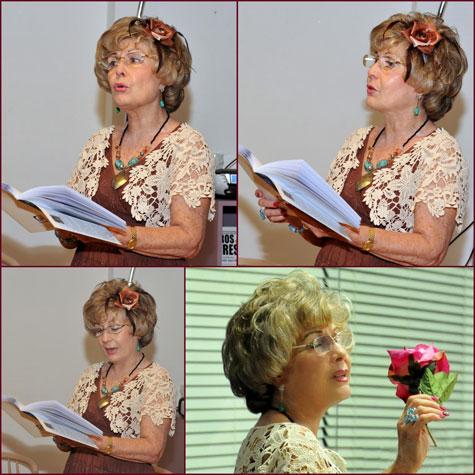 Carmen Carrasco (Poeta, escritora y actriz)