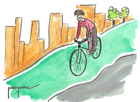 (Valencia carril bicicleta)