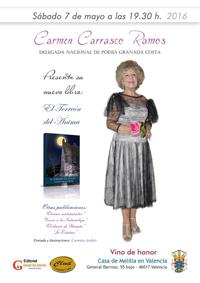 Cartel libro Carmen Carrasco