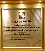 Lectura poética y prosa