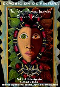 Cartel exposicion de Clemente Alarcos
