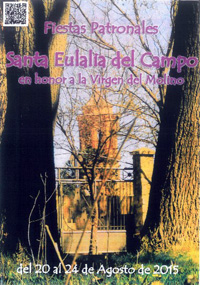 Cartel de las fiestas de Santa Eutalia (Teruel)