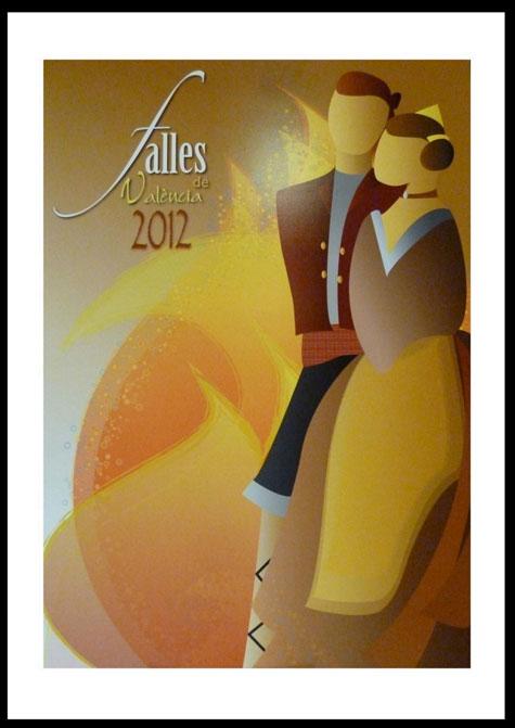 Cartel Ganador Fallas 2012