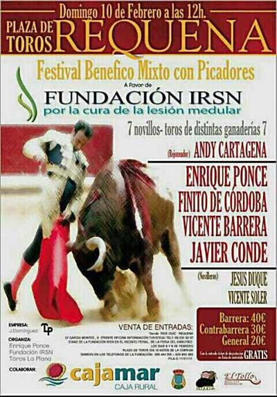 Festival taurino benéfico - Requena