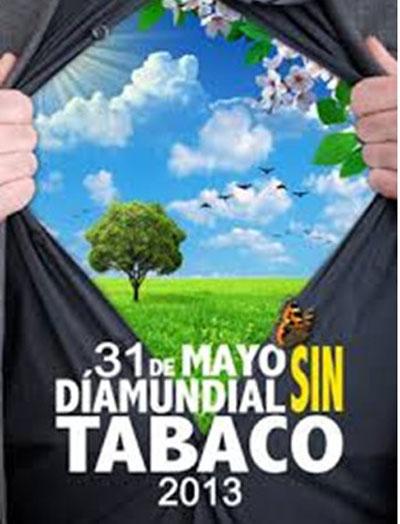 """31 de mayo """"Día mundial SIN tabaco"""" 2013"""