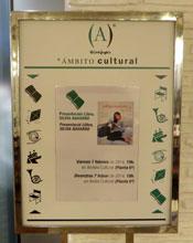Cartel del Ámbito Cultural del Corte Inglés