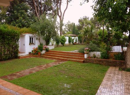 Los colores de la lluvia el rinc n de mamen francisco for Jardines exteriores de casas de campo