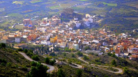 Vista panorámica de la Villa de Castellnovo