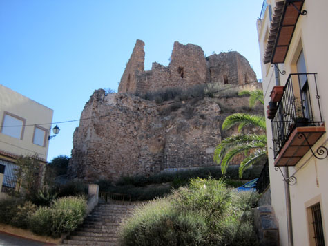 Ruinas del castillo de Castellnovo