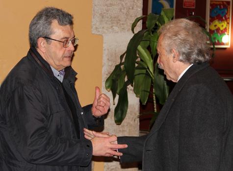 Manuel Emilio Castillo (Poeta) y Francisco Ponce (Escritor)