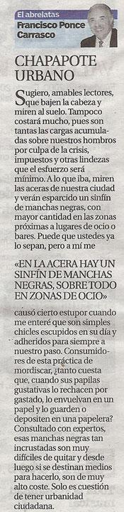 """Chapapote Urbano """"El Abrelatas"""" de Ponce"""