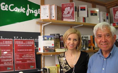 María Ángeles Chavarría y Ricardo LLopesa