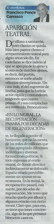 """Columna periodística """"El Abrelatas"""""""