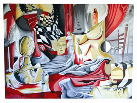 Eduardo Bermejo mural color