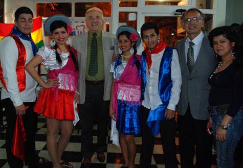 Conjunto baile Boliviano