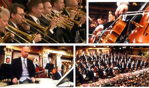 Varios aspectos del concierto