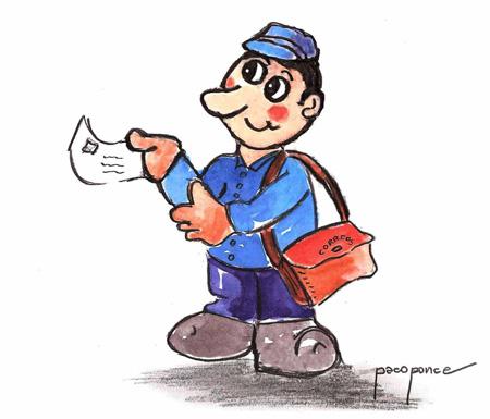 Correo postal - Dibujo