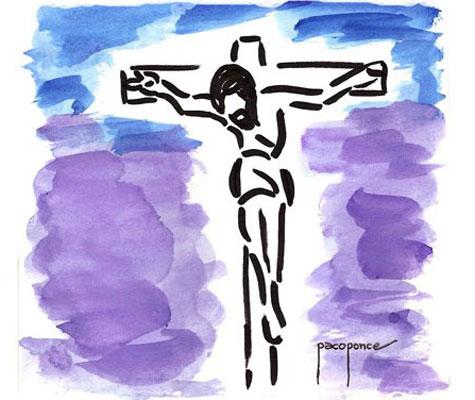 Cristo en la Cruz (Semana Santa 2013)
