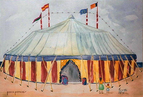 cuadro-circo de pacoponce