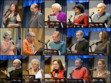 Poetas y escritores