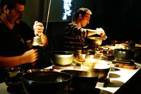 Sonido Cuencos Tibetanos