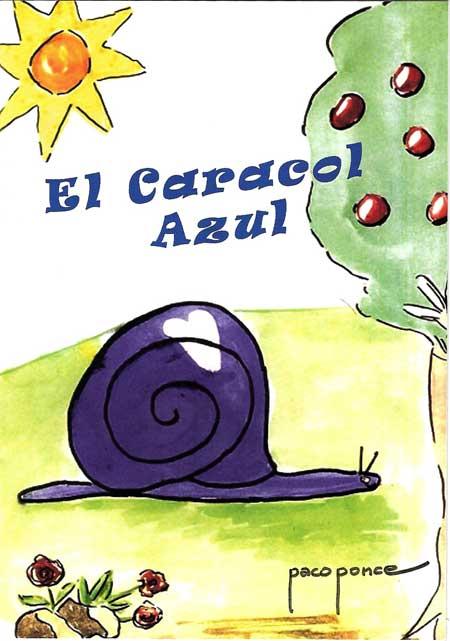 """(Cuento """"El Caracol azul"""")"""