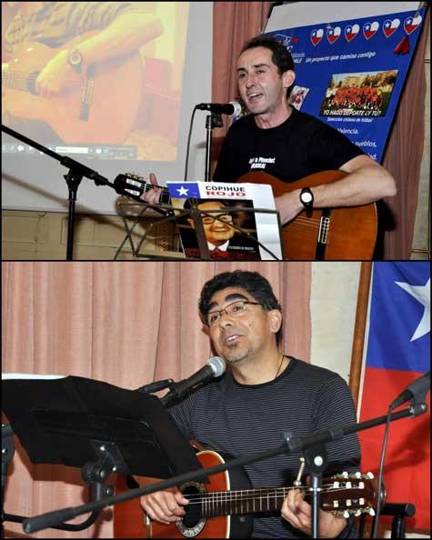 David Calabuig y Lucho Roa (Cantautores)