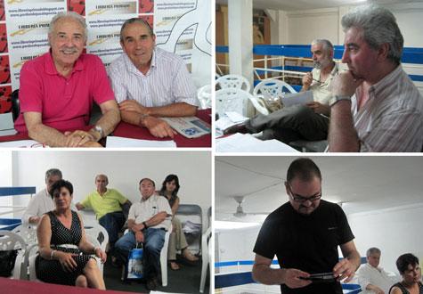Reunión del Jurado Finalistas Alfambra 2013