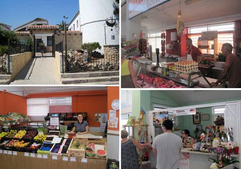 Algunas fotos del interior del mercado