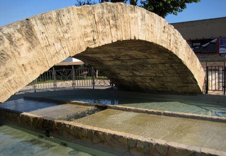 El Pont del Moro -Detalle acequia de Vera