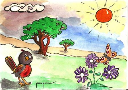Nuestro jardín un mundo vegetal y animal | Francisco Ponce Carrasco