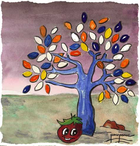 """Pichín - """"El tomate parlanchín"""""""