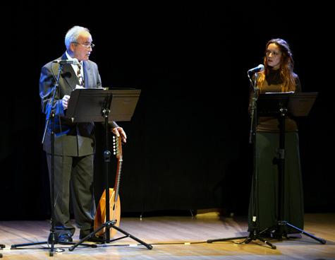 Antonio Baños y Carmen Visier