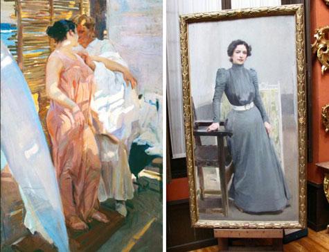 Mujeres y su esposa Clotilde
