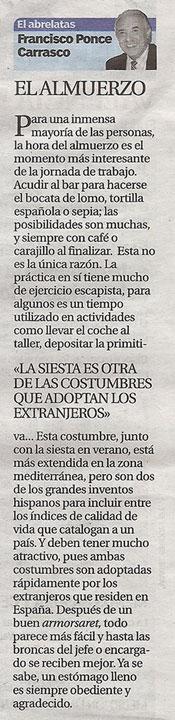"""Columna """"El Abrelatas"""" en 20minutos"""