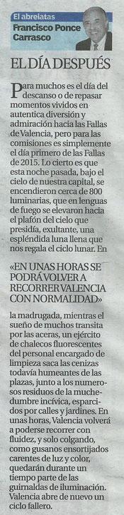 """El Abrelatas """"El día después"""" de Francisco Ponce"""