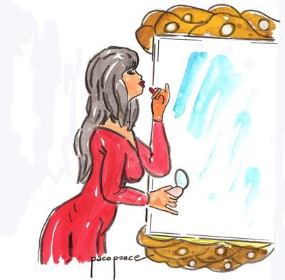 El espejo de la madrastra el rinc n de mamen francisco for El rincon del espejo