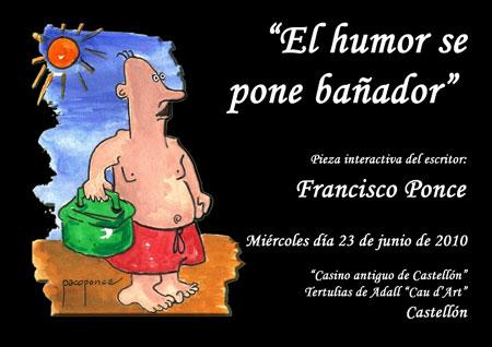 """(""""El humor se pone bañador"""")"""