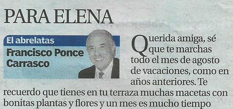 El Abrelatas (Columna de Francisco Ponce)