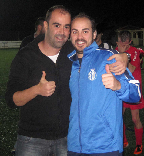 Iván Soriano y Rafa Navarrete