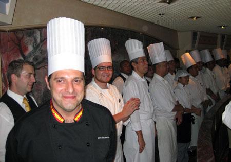 Equipo de cocineros